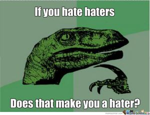 ¿Si odias a los que odian, te vuelves igual que ellos?