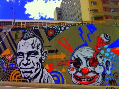 Mural Toxicómano