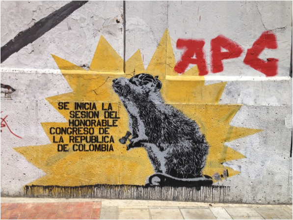 Natalia Pérez Torres O LUGAR DO GRAFFITI NO CENTRO DA BOGOTÁ CONTEMPORÂNEA  Florianópolis 2015 cf45f6d28790a